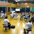 「津軽三味線×すこっぷライブ」練習開始